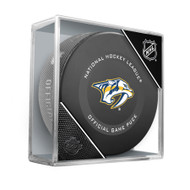 Nashville Predators Inglasco Official NHL Game Puck in Cube - New 2019-2020 Version