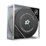 Dallas Stars Inglasco Official NHL Game Puck in Cube - New 2019-2020 Version