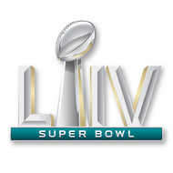 "2020 Super Bowl LIV (54) 2"" Jumbo Logo Pin on Pin"
