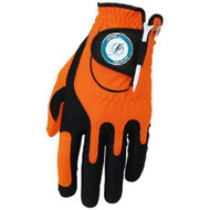 Zero Friction NFL Miami Dolphins Orange Golf Glove, Left Hand