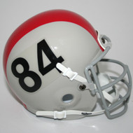 Ohio State Buckeyes 1964-65 Schutt Throwback Mini Authentic Helmet