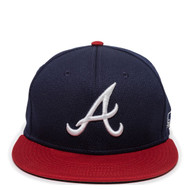 Atlanta Braves MLB Mesh Replica Adjustable Baseball Cap Hat