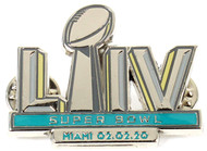 Super Bowl LIV (54) Commemorative Lapel Pin - Miami 02.02.20