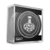 2013 NHL Stanley Cup Playoff Sherwood Official Game Puck (Game One)