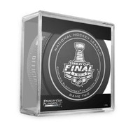 2013 NHL Stanley Cup Playoff Sherwood Official Game Puck (Game Two)