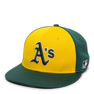Oakland A's Alternate MLB Mesh Replica Adjustable Baseball Cap Hat