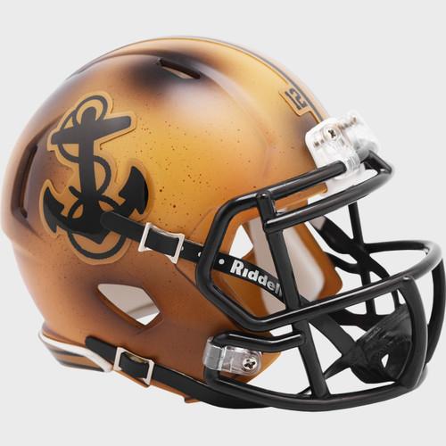 Navy Midshipmen Special 2019 Throwback Alternate Revolution SPEED Mini Football Helmet