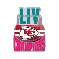 Kansas City Chiefs 2019 Super Bowl LIV 54 Champions Lapel Pin