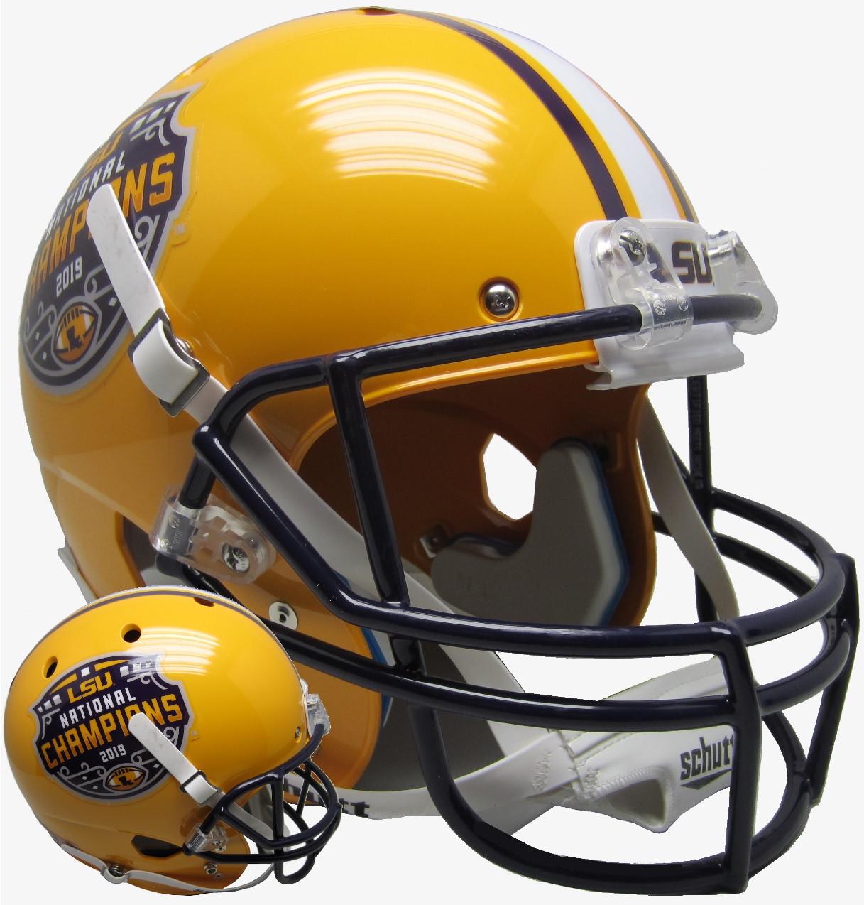 Schutt NCAA LSU Tigers Mini Authen