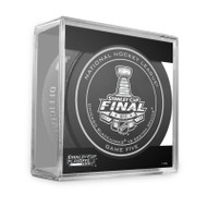 2013 NHL Stanley Cup Playoff Sherwood Official Game Puck (Game Five)