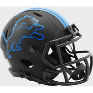 Detroit Lions 2020 Black Revolution Speed Mini Football Helmet