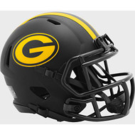 Green Bay Packers 2020 Black Revolution Speed Mini Football Helmet