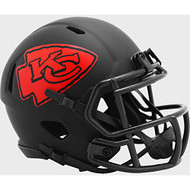 Kansas City Chiefs 2020 Black Revolution Speed Mini Football Helmet