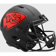 Kansas City Chiefs 2020 Black Speed Replica Full Size Football Helmet