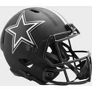 Dallas Cowboys 2020 Black Speed Replica Full Size Football Helmet