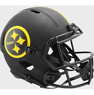 Pittsburgh Steelers 2020 Black Speed Replica Full Size Football Helmet