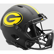 Green Bay Packers 2020 Black Speed Replica Full Size Football Helmet