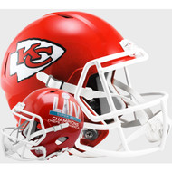 Kansas City Chiefs Super Bowl 54 LIV Champions Speed Replica Full Size Football Helmet