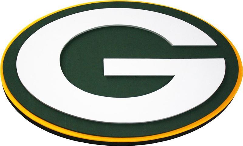 Green Bay Packers 3D Fan Foam Logo Sign