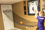NBA Over The Door Ball Return Basketball Mesh Net 10' x 34""