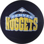 Denver Nuggets Spalding NBA Mini Rubber Basketball Size 3 / 22 inch