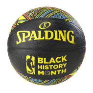 NBA Black History Month Official Full Size Rubber Logo Basketball