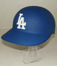 Los Angeles Dodgers MATTE BLUE Rawlings NEC Classic Full Size Baseball Batting Helmet with 3D LA Logo