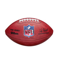 NFL Official 2020 Authentic Leather Game Football (Boxed) by Wilson (Signed by Roger Goodell) Model F1100