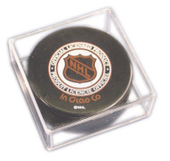 UV Protected Hockey Puck Square Cube Storage Display Case (1 case of 54)