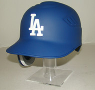 Los Angeles Dodgers MATTE BLUE Rawlings REC Coolflo Full Size Baseball Batting Helmet with 3D LA Logo