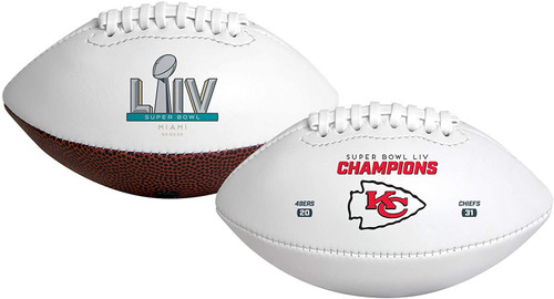 Super Bowl LIV 54 Official Size Kansas City Chiefs Championship Football