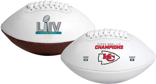 Super Bowl LIV 54 Official Size Kansas City Chiefs Championship Football