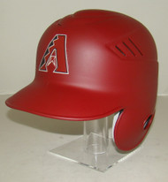 Arizona Diamondbacks Matte Red Brick Rawlings LEC Coolflo Full Size Baseball Batting Helmet