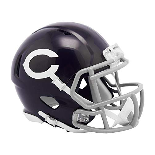 Chicago Bears 1960 Classic NFL Riddell Speed Mini Football Helmet