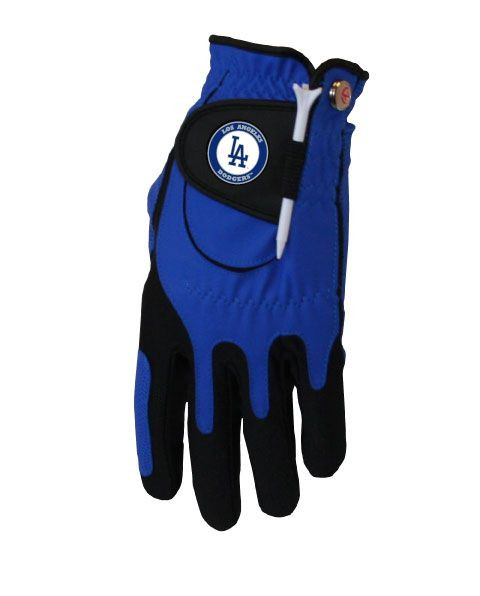 Zero Friction MLB Los Angeles Dodgers Blue Golf Glove, Left Hand