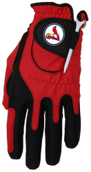 Zero Friction MLB St. Louis Cardinals Red Golf Glove, Left Hand