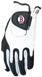 Zero Friction MLB Boston Red Sox White Golf Glove, Left Hand