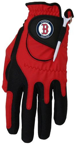 Zero Friction MLB Boston Red Sox Red Golf Glove, Left Hand