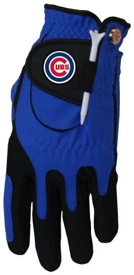 Zero Friction MLB Chicago Cubs Blue Golf Glove, Left Hand