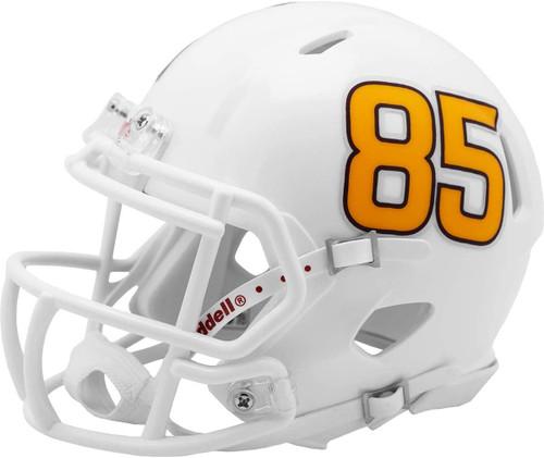 Arizona State Sun Devils White Fork with #85 Revolution SPEED Mini Football Helmet LEFT SIDE