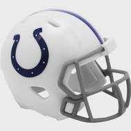 Indianapolis Colts 2020 Logo Riddell Mini Revolution Speed Pocket Pro Football Helmet