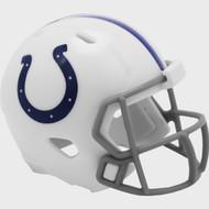 Indianapolis Colts 2020 Logo Riddell Mini Revolution Speed Pocket Pro Football Helmet