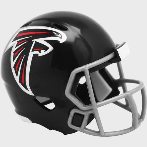 Atlanta Falcons 2020 Logo Riddell Mini Revolution Speed Pocket Pro Football Helmet
