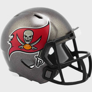 Tampa Bay Buccaneers 2020 Logo Riddell Mini Revolution Speed Pocket Pro Football Helmet