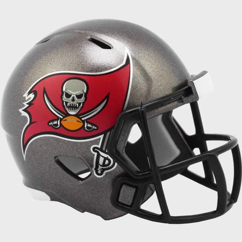 Tampa Bay Buccaneers 2020 Logo Riddell Mini Revolution Speed Pocket Pro Football Helmet