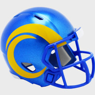 Los Angeles Rams 2020 Logo Riddell Mini Revolution Speed Pocket Pro Football Helmet