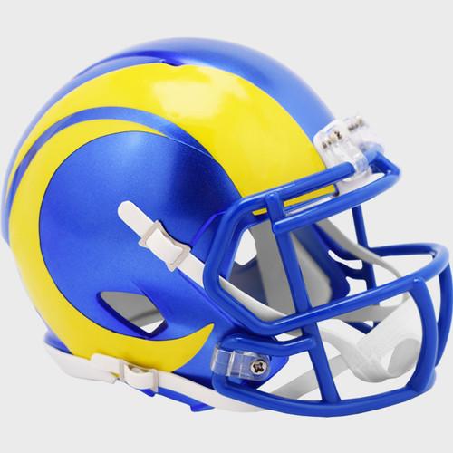 Los Angeles Rams New 2020 Revolution SPEED Mini Football Helmet