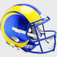 Los Angeles Rams New 2020 SPEED Riddell Full Size Replica Football Helmet