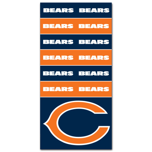 Chicago Bears NFL Bandana Superdana Neck Gaiter Face Guard Mask