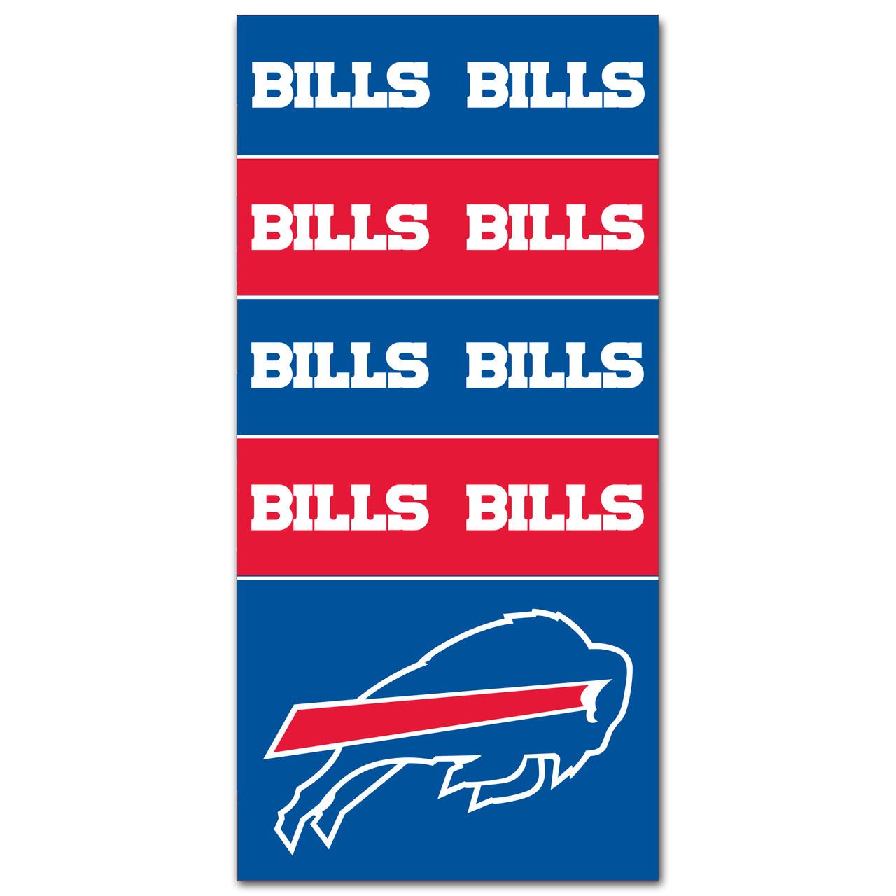 Buffalo Bills neck gaiter Face mask Football seamless Balaclava US SELLER!